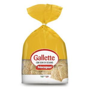 Gallette al sesamo