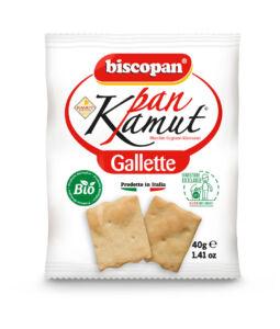 Gallette al Kamut 40gr.